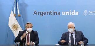 Anuncio Vacunas Alberto Fernandez