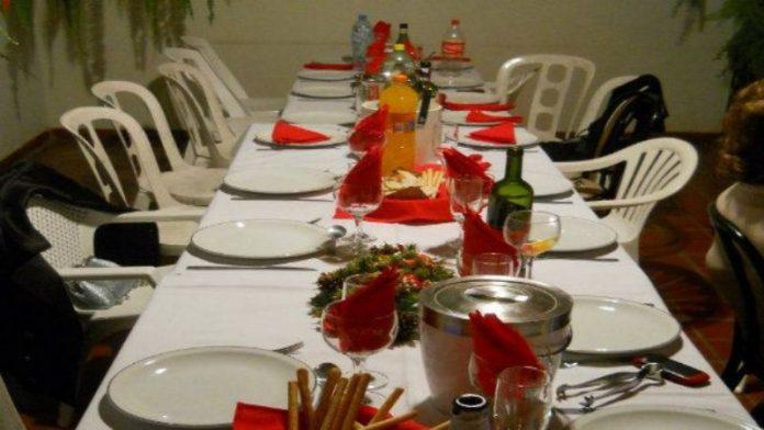 Cena Navidad Patio