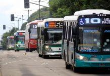 Colectivos Transporte Aumento