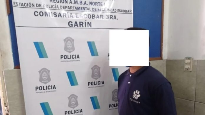Detenido Garin Pegarle Mujer Anciana