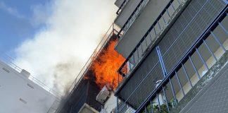 Incendio Olivos Departamento 2
