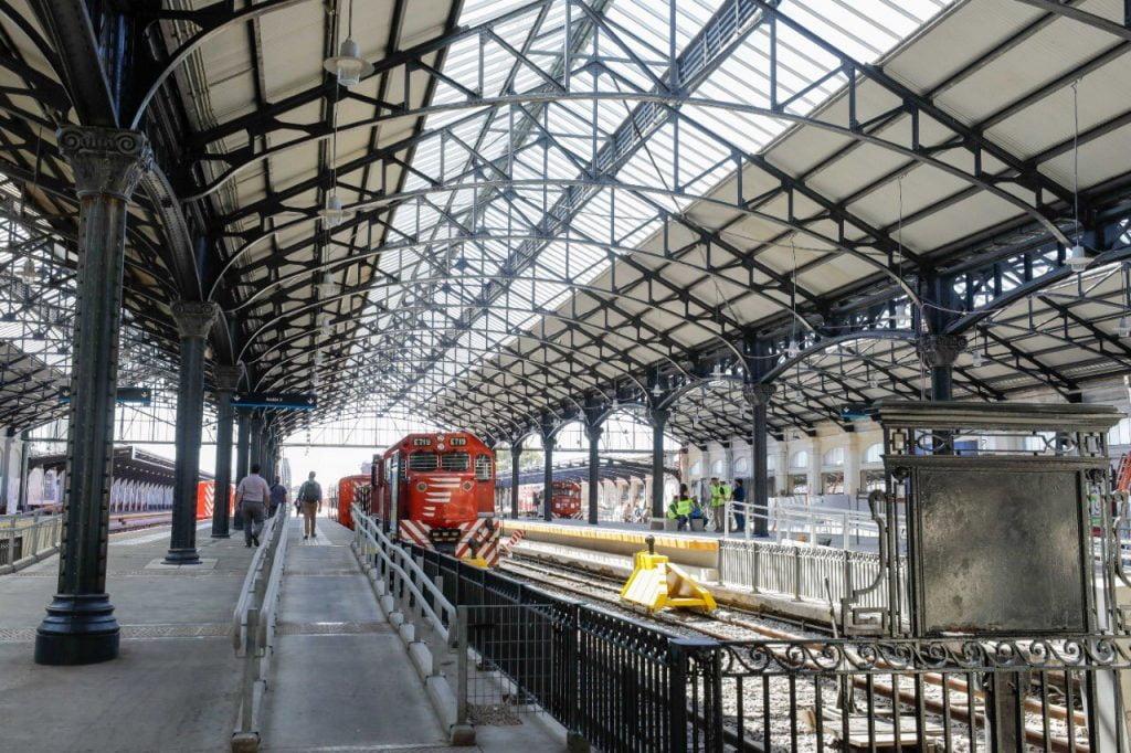 Obras Retiro Belgrano Norte 2