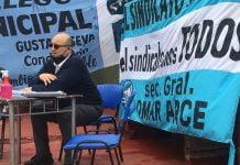 Omar Arce Municipales San Isidro
