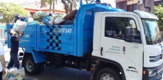 Recolección De Residuos En San Martín, Feriados