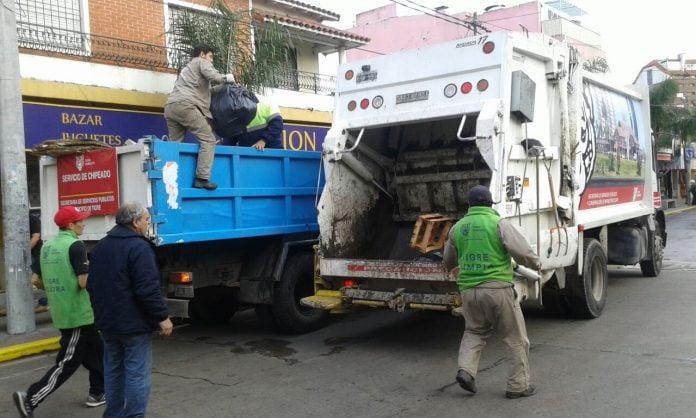 Recoleccion Residuos Basura Tigre