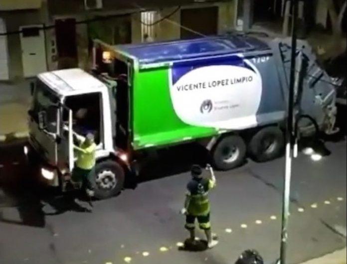 Residuos Camion Basura Vicente Lopez