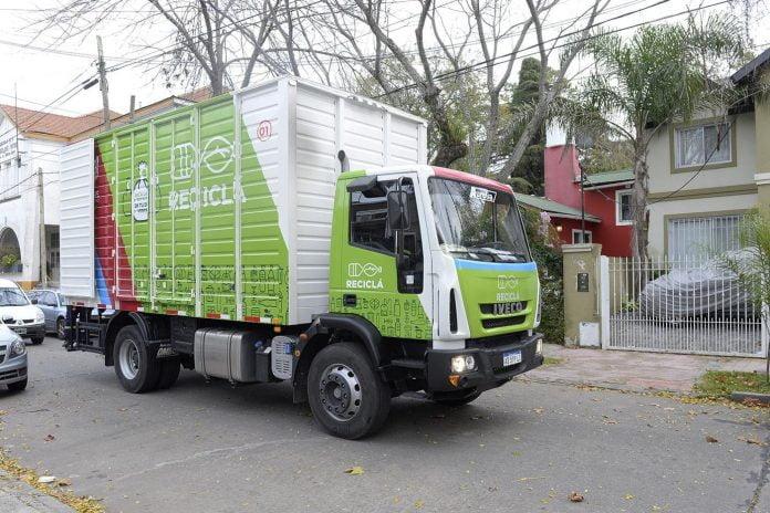 camion de basura tigre