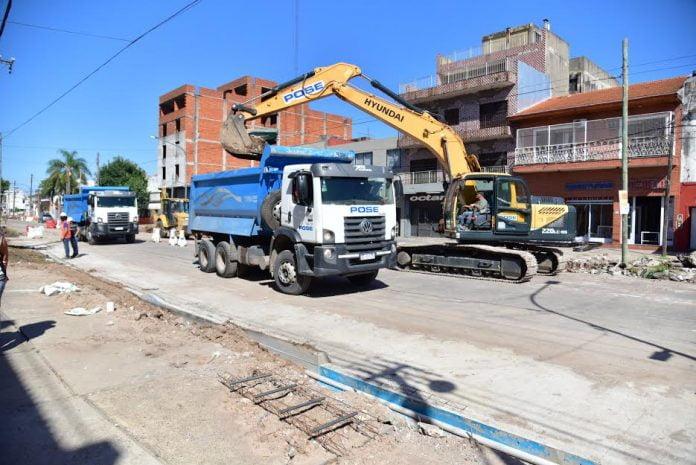 obras avenida illia san martín