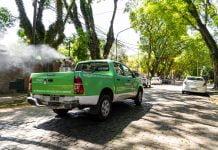Fumigación dengue vicente lopez