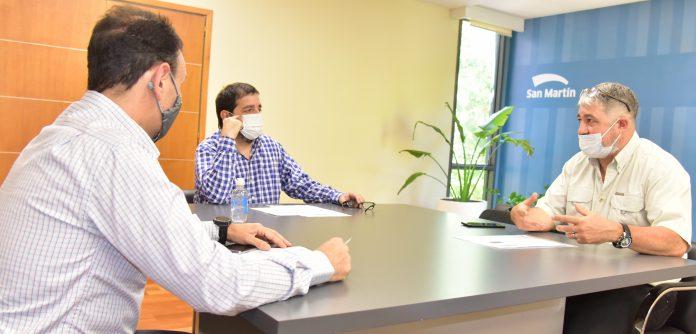 Moreira Y Mendez Analizaron El Estado Del Servicio De Agua Y Cloacas En La Ciudad.