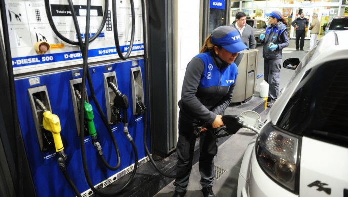 Ypf Aumento 3,5% Combustibles