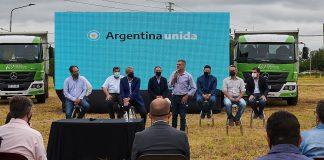 Zabaleta, Ferraresi Y Katopodis, Junto A Intendentes Del Conurbano, Firmaron Convenios Para Viviendas