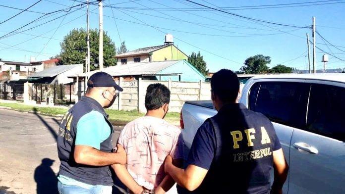Detenido Pacheco Policia Federal
