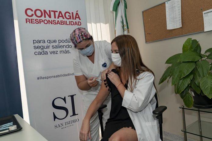Hospital Central San Isidro Aplicacion Vacuna Covid