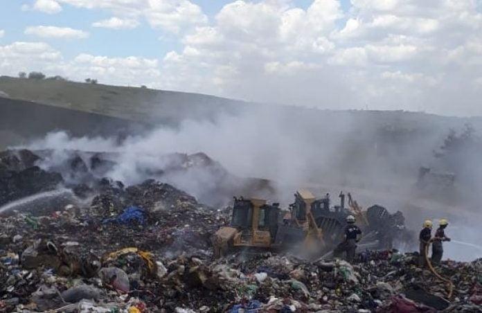Incendio Planta Recicladora San Martin