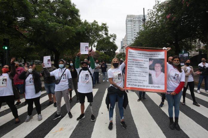 Marcha Vecino Desaparecido San Martín