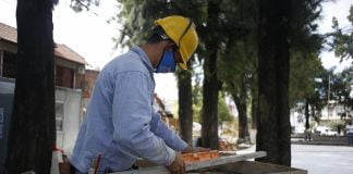 Obras Renovación Plazas Tres De Febrero