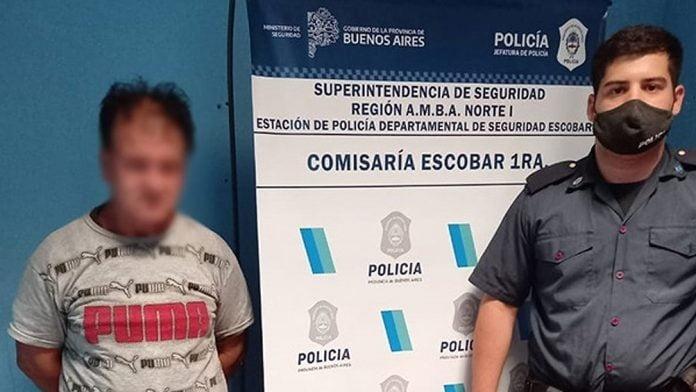 Preso Escape Comisaría Garín, Escobar