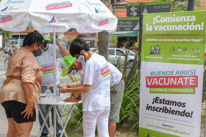 Puntos Registro Vacuna Covid San Fernando