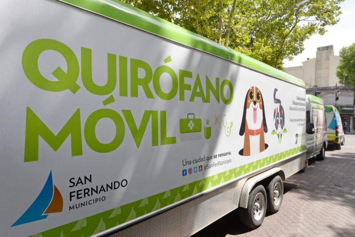 Quirofano Movil Zoonosis San Fernando 4