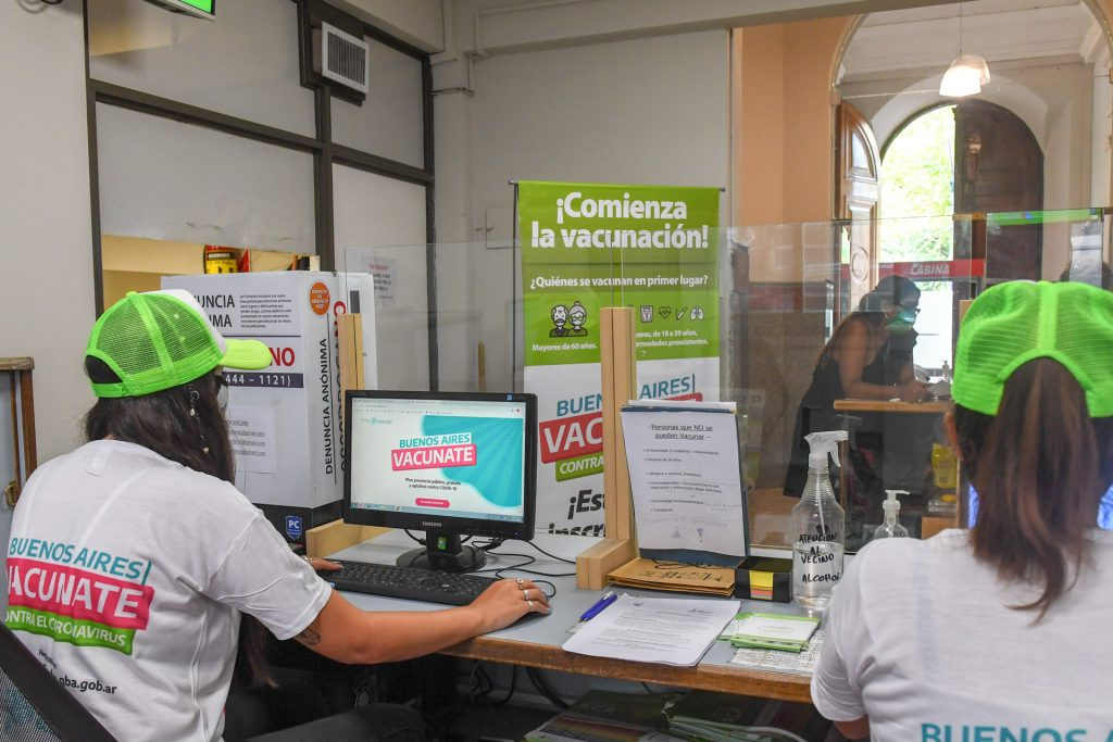 Vacuna San Fernando Coronavirus Inscripcion
