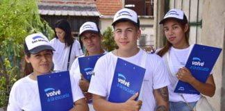 Voluntarios Programa Volve A La Escuela San Martín