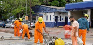 obras avenida peron san martin