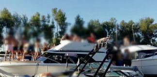 prefectura desarticuloì una fiesta clandestina en el agua en san isidro 2
