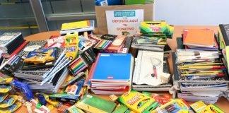 Donación Útiles Escolares San Isidro