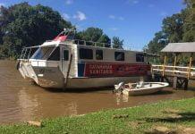 catamarán sanitario delta tigre