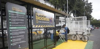 guarderia de bicicletas