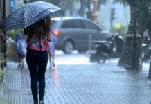 lluvia amba pronostico
