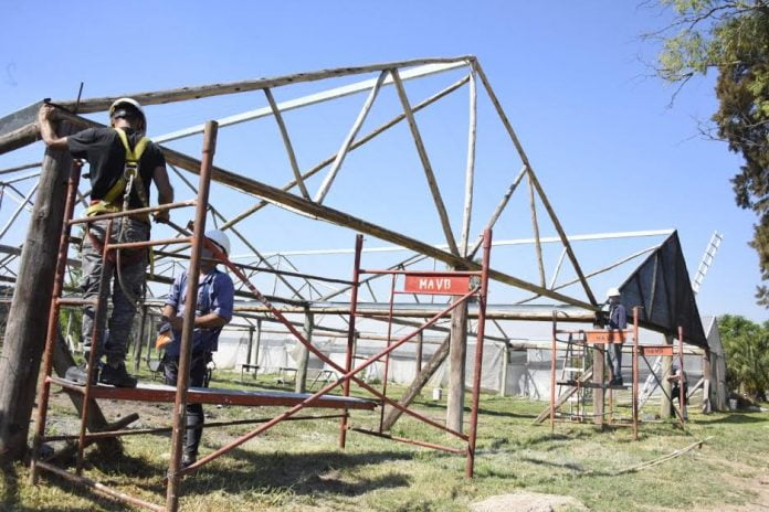malvinas argentinas construcción vivero municipal