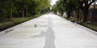 obras pavimentación hidráulica los polvorines