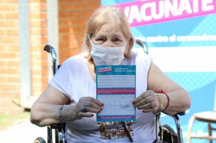 vacuna jubilados pilar