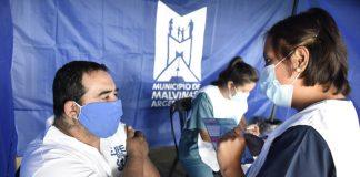 vacunación covid malvinas