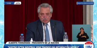 alberto fernandez discurso apertura sesiones diputadostv