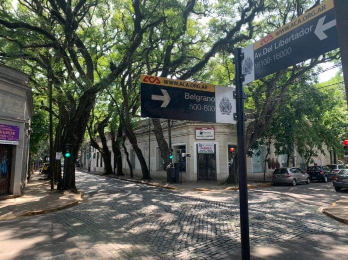 casco historico san isidro libertador