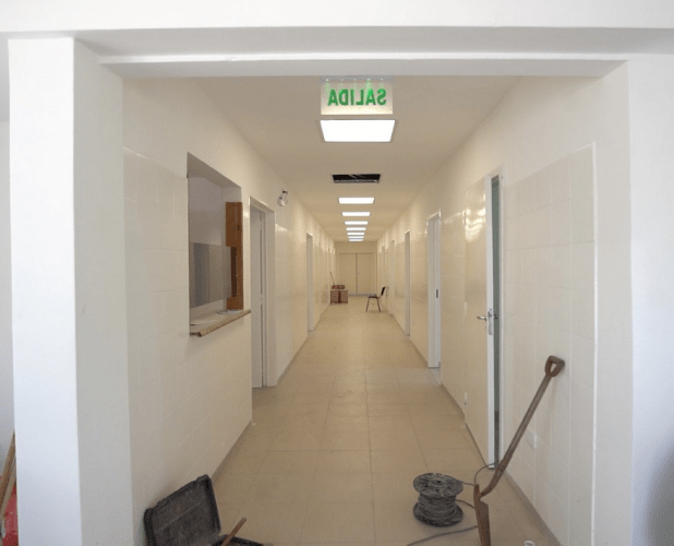 centros de salud pilar, obras provincia
