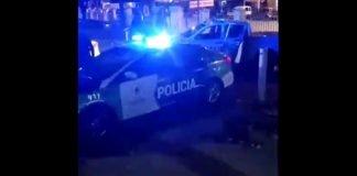 enfrentamiento policía vecinos hospital belgrano san martín