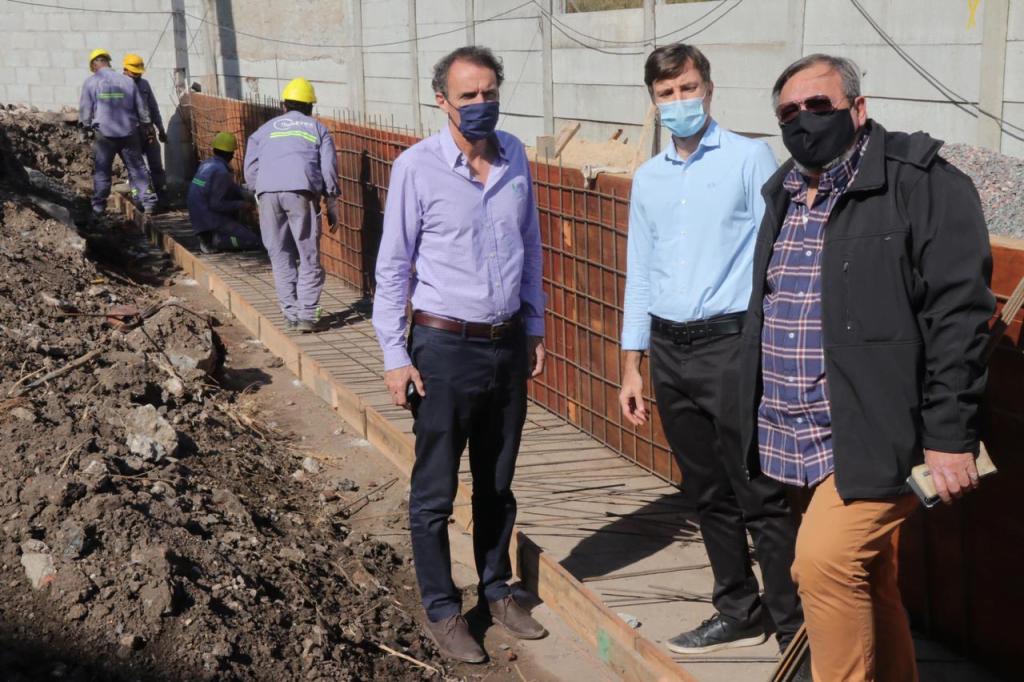 El intendente Ghi y el ministro Katopodis recorrió obras de infraestructura en Morón