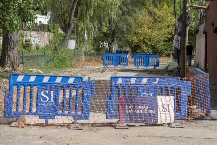 asfalto repavimentacion calle pedro de mendoza san isidro