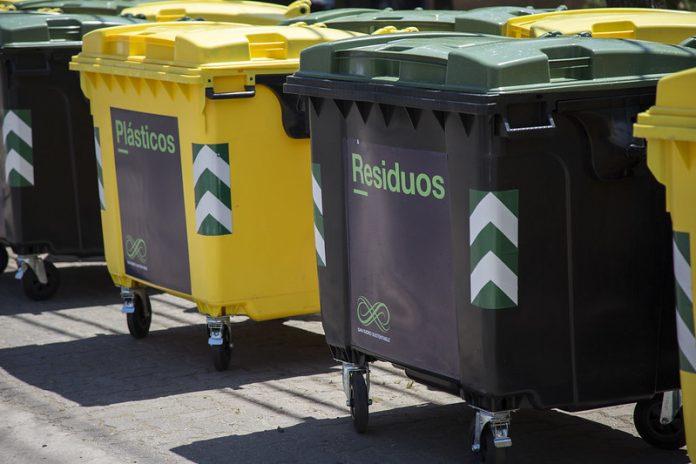 residuos tachos contenedores recoleccion