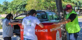 Botellas de Amor en San Fernando