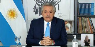 alberto fernandez anuncio restricciones abril 3