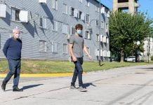 calle carlos casares, pavimentación san fernando