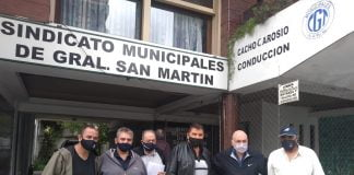 gustavo seva municipales san martin convenio colectivo