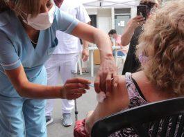 morón 88% vacunados mayores 70