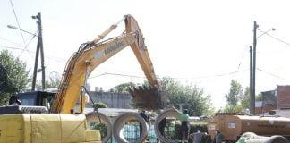 obras hidráulicas y urbanización barrio bajo guemes pilar