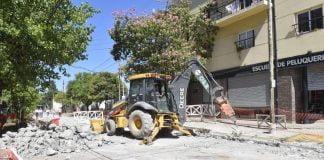 pavimentación obra hidráulica malvinas argentinas